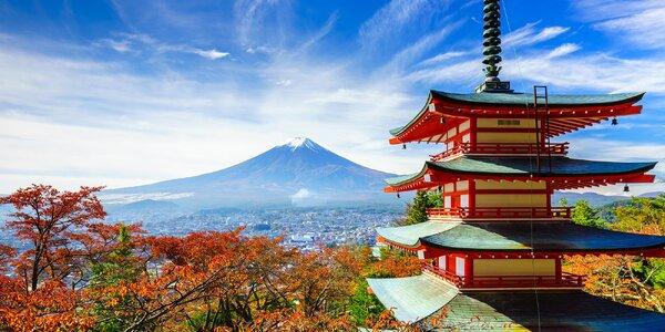 Záloha na zájezd do Japonska: Cesta Samuraje