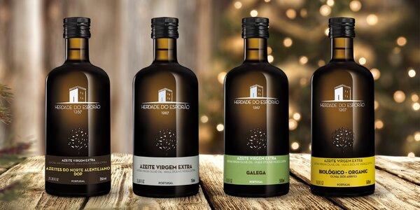 Výběr kvalitních olivových olejů z Portugalska