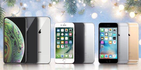 Zánovní Apple iPhone 6s, 7, 8, 8 plus, X, XR i XS
