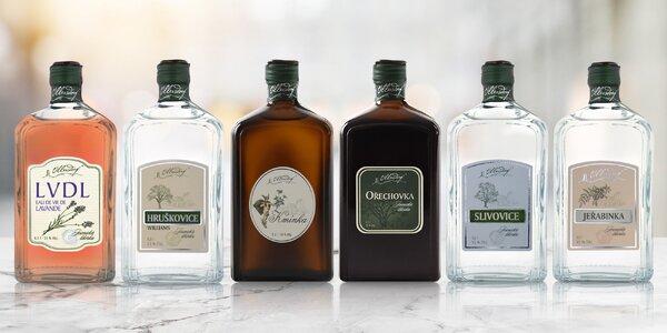 Ušlechtilé likéry a pálenky Ullersdorf z Jeseníků
