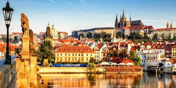 2–3denní pobyt v Praze se snídaní