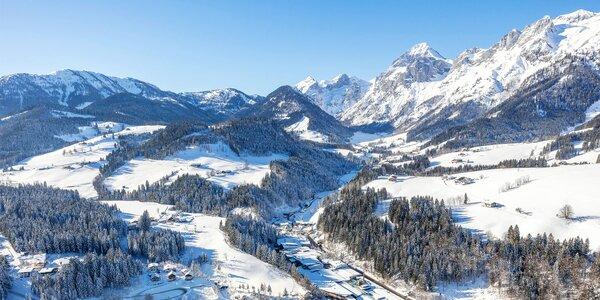 Dovolená u Dachsteinu s wellness i stravou