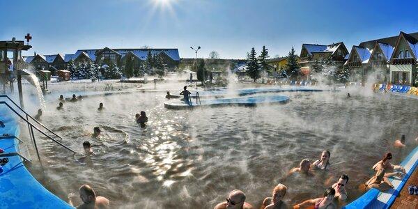Pobyt s wellness v Bešeňové, 500 m od aquaparku