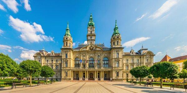 Barokní Győr: 4* hotel, jídlo i vstup do lázní