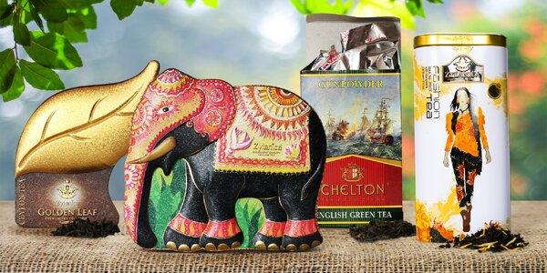 Prvotřídní čaje ze Srí Lanky: zelený i černý