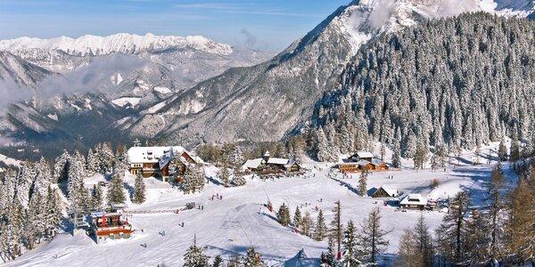 Pobyt ve slovinských Alpách s polopenzí i skipasem