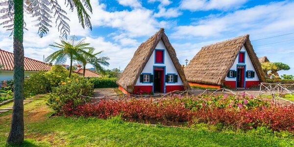 Letecky na Madeiru: 7 nocí, snídaně, nabitý program