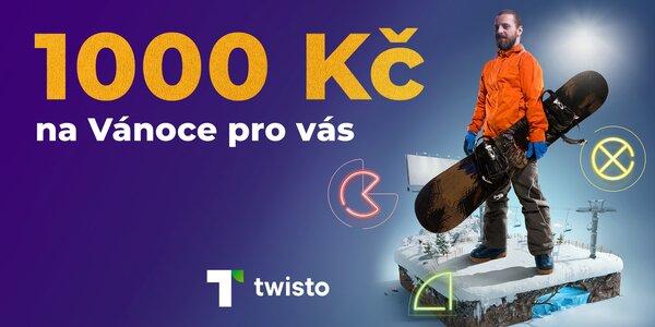 1000 kreditů na Slevomat za založení Twisto účtu
