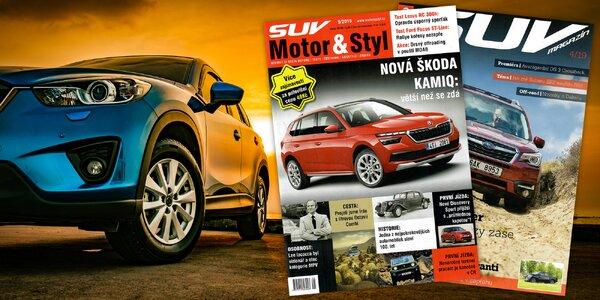 Roční předplatné magazínu SUV Motor & Styl