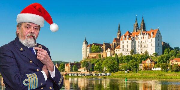 Plavba do Míšně a k zámku Moritzburg i s obědem