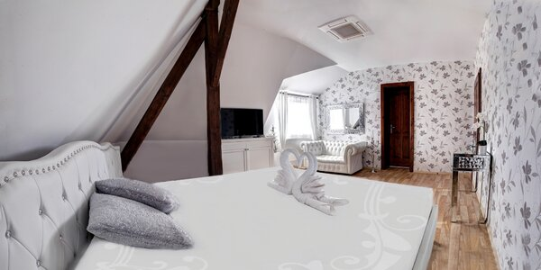 Luxusní ubytování v prvorepublikové lázeňské vile