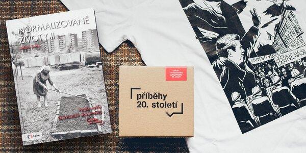Paměť národa: triko, diář i CD Příběhy 20. století
