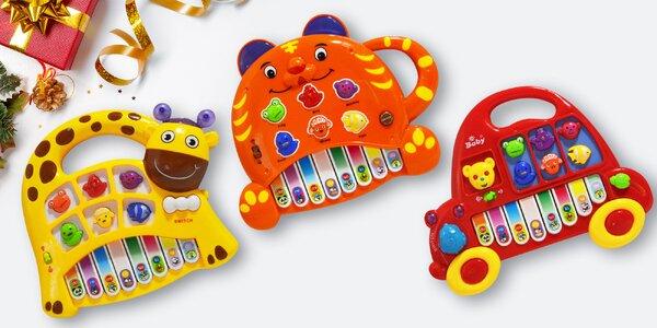 Dětská interaktivní piana pro malé hudebníky