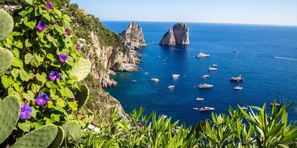Zájezd do Itálie: Neapol, Pompeje, Vesuv i Řím