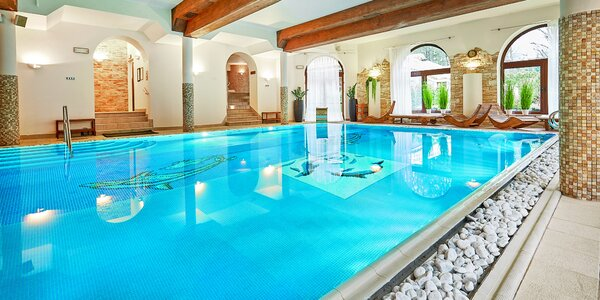 Dávka luxusu a romantiky včetně wellness & spa