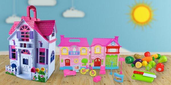 Vybavení do kuchyňky i domečky pro panenky