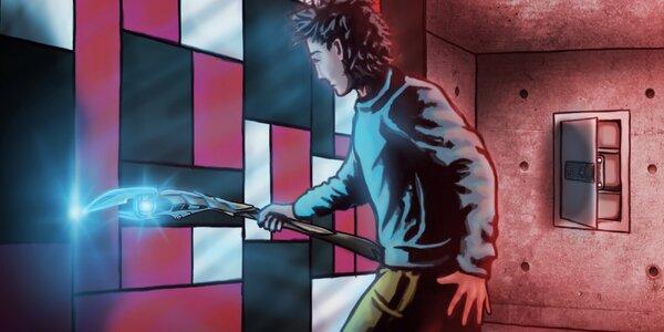 Komiksová úniková hra Hrdina pro 2–6 hráčů