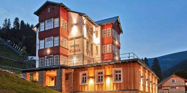 Pořádný relax v moderní rezidenci v Krkonoších