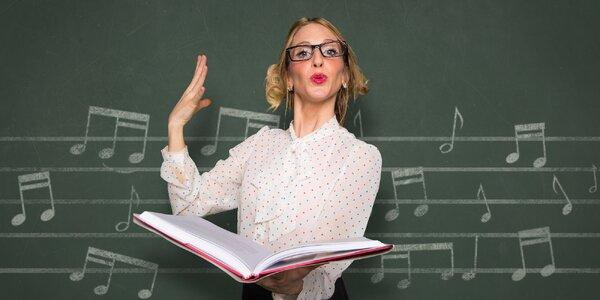 Kurz zpěvu pro dospělé v termínu leden–únor