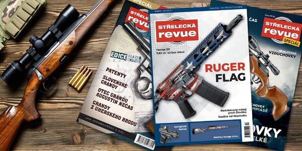 Roční předplatné časopisu Střelecká revue