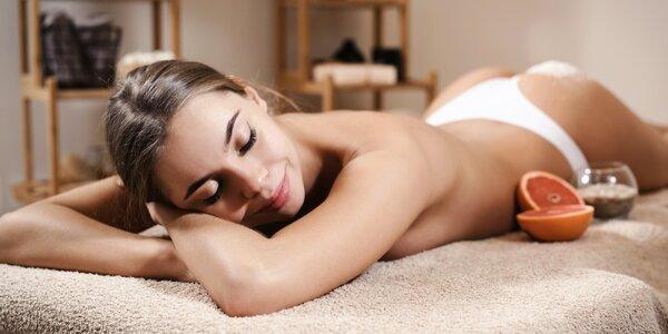 90 minut relaxu s extra hubnoucí či relaxační masáží