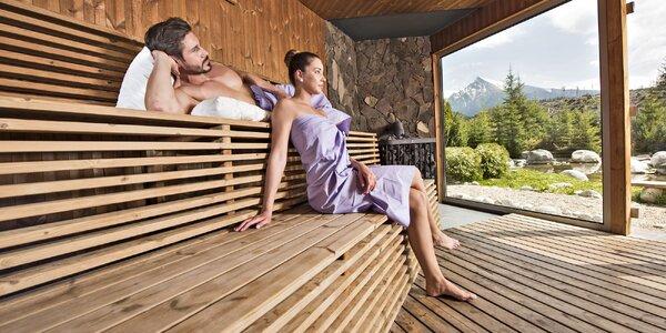 Srub v Tatrách a denně relax v největším wellness