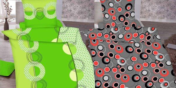 Povlečení ze 100% bavlny v sedmi designech