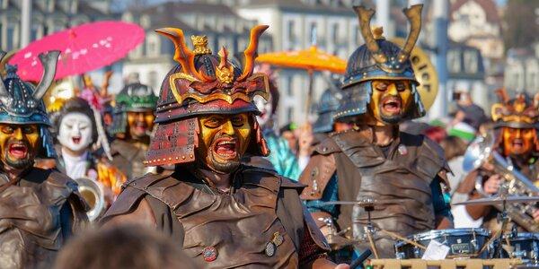 Zájezd do Švýcarska na karneval v Luzernu