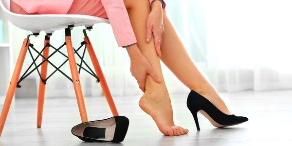 Přístrojová masáž nohou: 1 vstup i permanentka