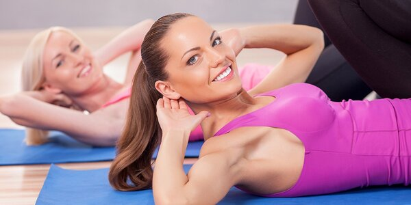 Členství v dámském fitness Contours a masáž