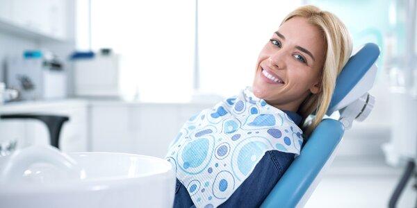 Šetrná dentální hygina a ordinační bělení zubů
