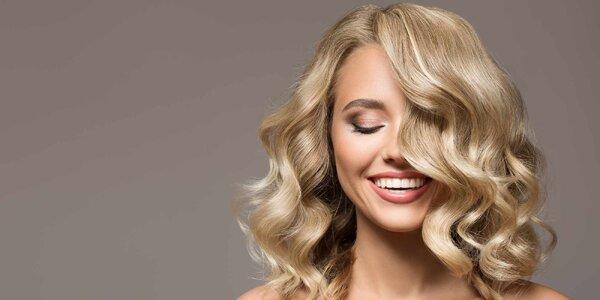Kadeřnický střih nebo styling s masáží hlavy