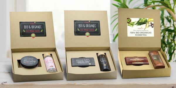 Dárkové kazety s přírodní pěstící kosmetikou