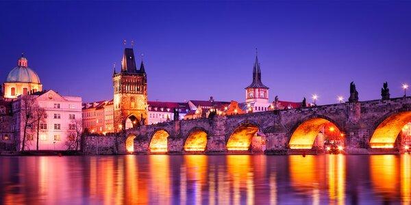 Pobyt v pražském penzionu s možností wellness