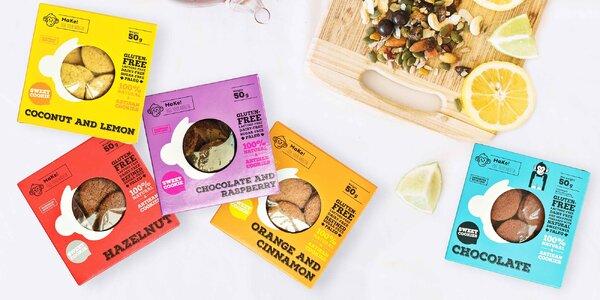 Zdravé sušenky z lahodné kokosové mouky či oříšků