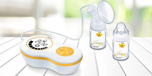 Elektrická odsávačka mateřského mléka Beurer