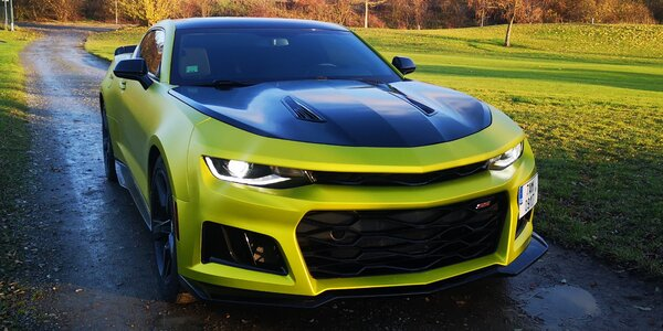 Superjízda v Chevrolet Camaro na 15–60 minut