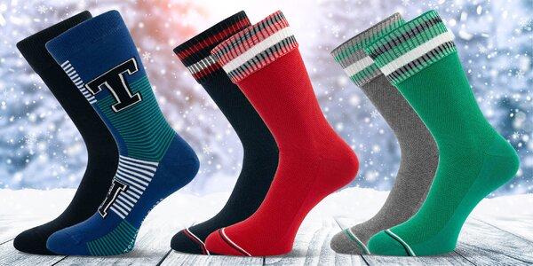 Dvojbalení pánských ponožek Tommy Hilfiger