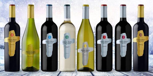 Exkluzivní sety vín: až 13 lahví, červené i bílé