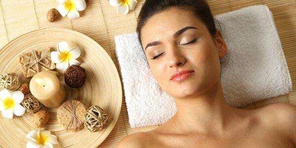 Relaxační kosmetické ošetření i masáž obličeje