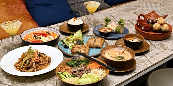 Speciální degustační menu Khomfi Karlín
