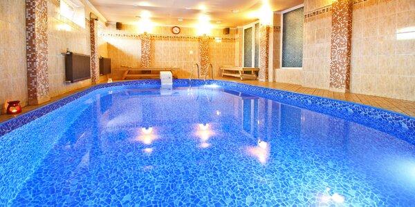 Privátní relaxace: vířivka nebo bazén a sauna