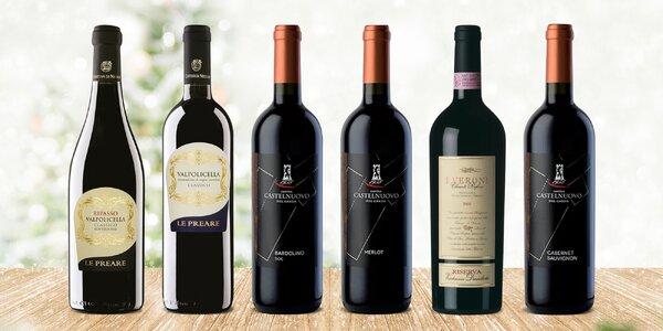 Suchá červená vína z Itálie: 15 druhů