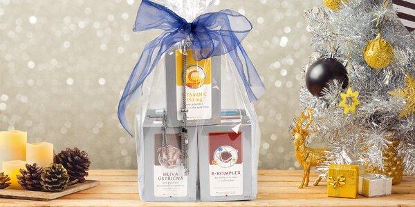 Vánoční dárkový balíček doplňků stravy VITAR