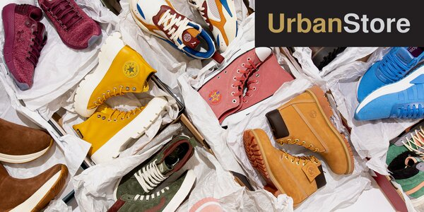 Sleva 250 Kč na nákup v e-shopu Urbanstore.cz