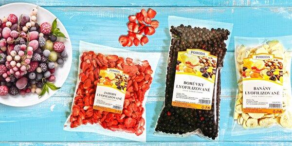 Balíčky plné chuti a zdraví: ovoce sušené mrazem
