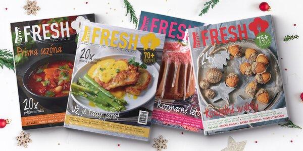 Roční předplatné časopisu Prima FRESH + dárky