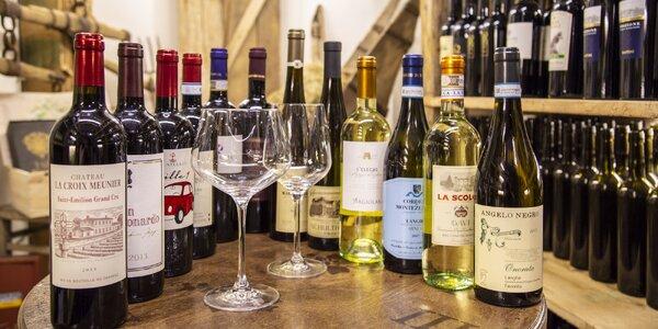 Degustace italského vína z 6 oblastí