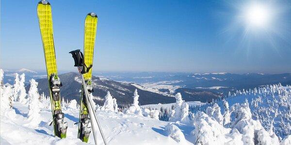 Půjčovna lyží a příslušenství pro děti i dospělé