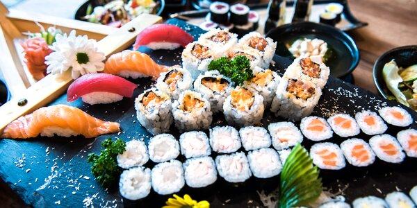 Sushi bar: otevřený voucher v hodnotě až 1000 Kč